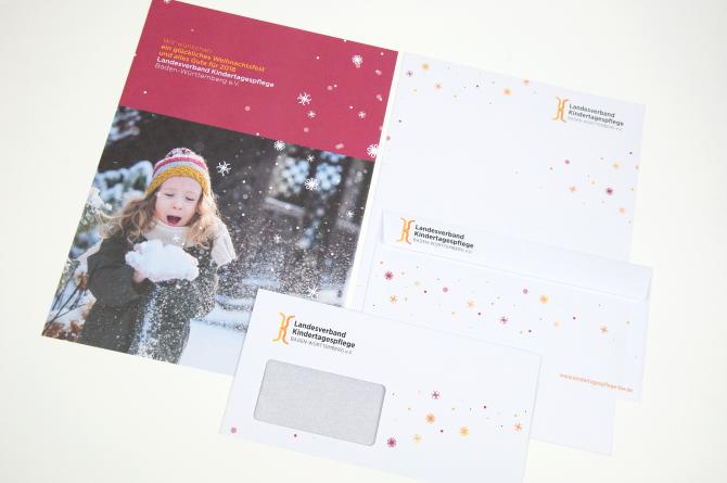 Weihnachten Brief Umschlag