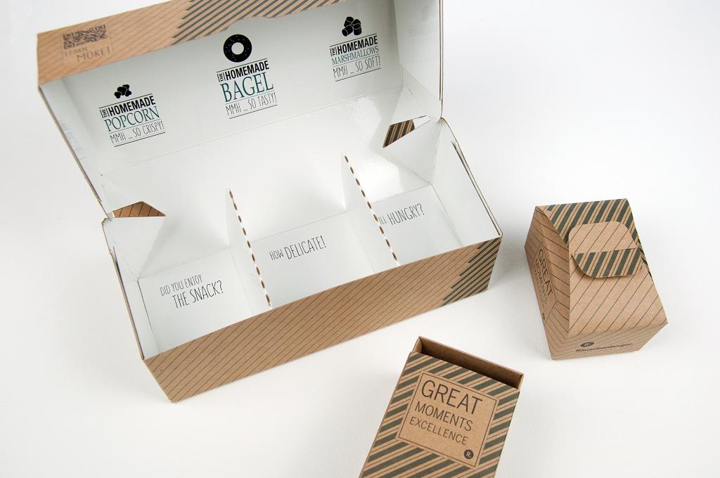 Schachtel Snackbox