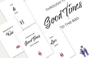 Postkarte, Postkarten, Plakat, Geschenk, Hochzeit